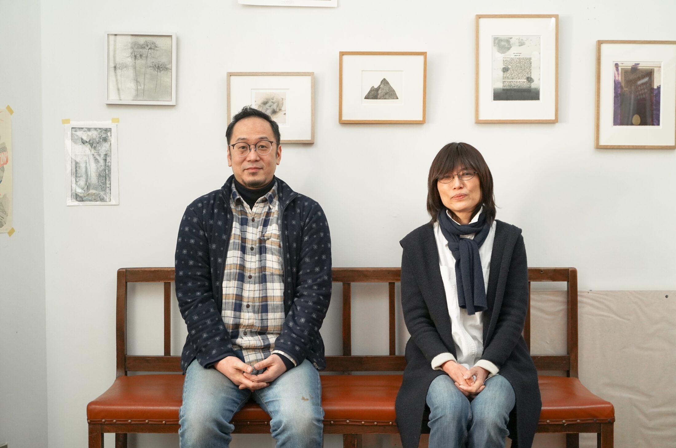 小松佳代子准教授と岡谷敦魚准教授